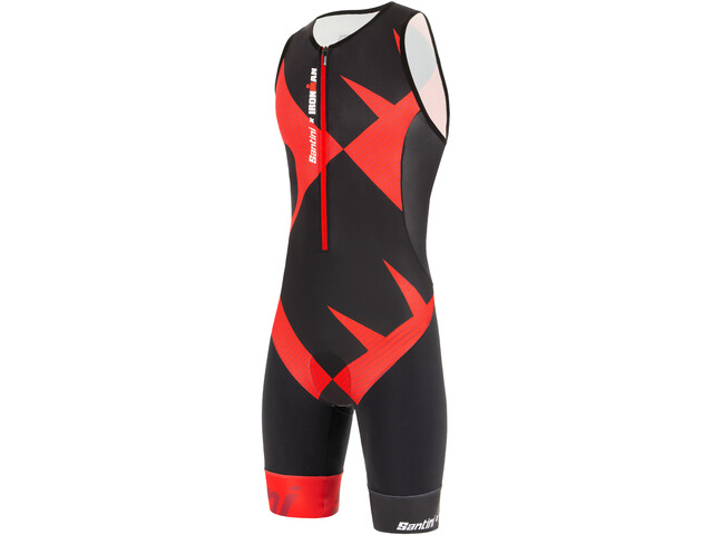 Santini Cupio SL Trisuit Men, red